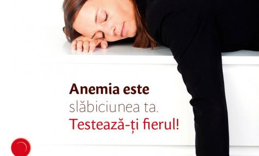 Anemia, o problemă care se tratează ușor