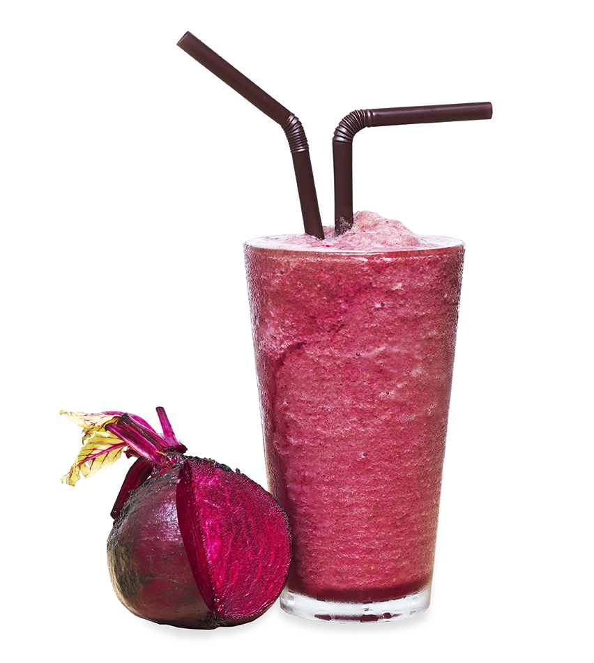 Healthy drink smoothie beetroot
