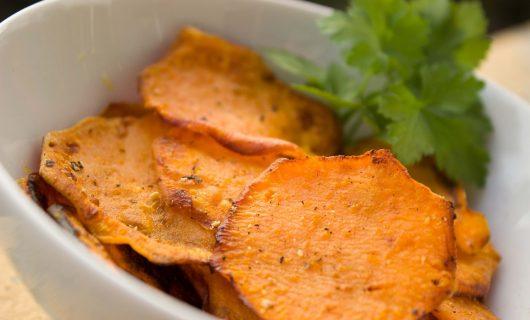 Cipsuri de legume si fructe, alternativa sanatoasa