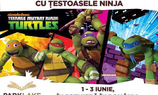 (P) Țestoasele Ninja vin pentru prima dată în România, la ParkLake Shopping Center