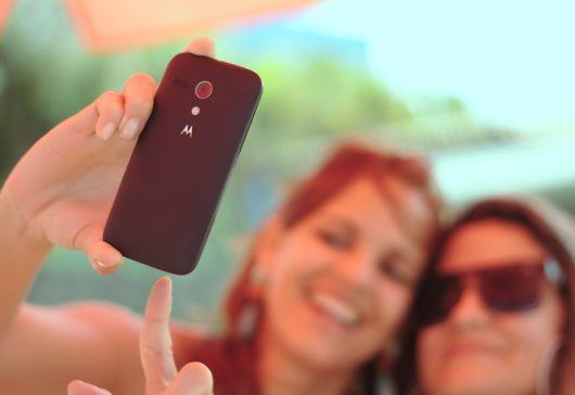 Poza perfectă cu telefonul mobil
