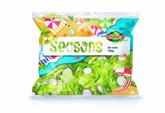 """(P) Salata """"de vară"""" de la Eisberg, o joacă sănătoasă"""