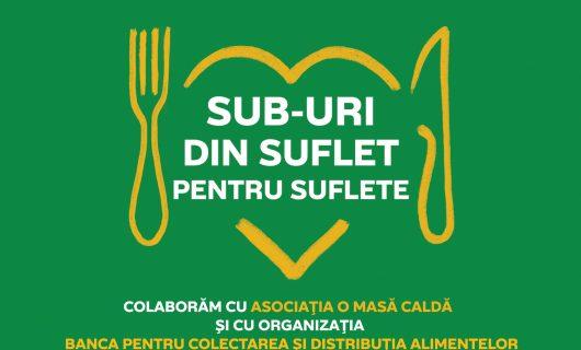 Subway® România peste 4.000 de sandwich-uri persoanelor nevoiașe