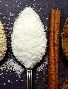 zahar, sare, zahar brun, lingurite cu zahar