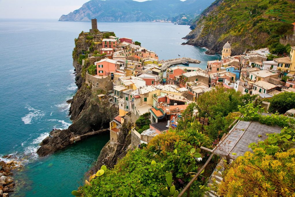 locuri din europa, Cinque Terre