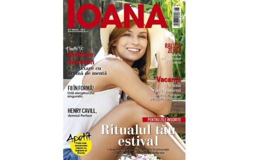 A apărut ediția de iunie 2020 a revistei Ioana!