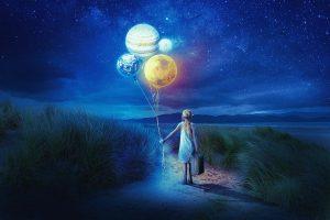 luna iunie copil cu baloane, horoscop, astrologie