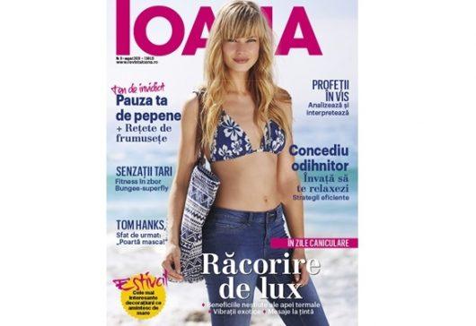 A apărut ediția de august 2020 a revistei Ioana!