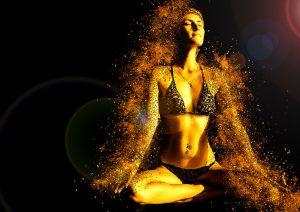 yoga, femeie care face yoga, fertilitate