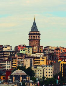 istanbul, Turcia, vedere panoramica