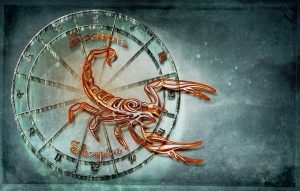 horoscop, zodii, scorpion maro, Scorpioni, ilustratie, semn zodiacal