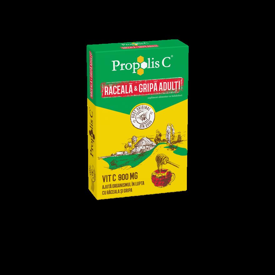 Propolis C raceala si gripa adulti