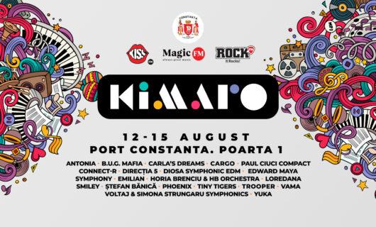 Kiss FM, Magic FM și Rock FM prezintă KIMARO, cel mai mare festival al muzicii românești